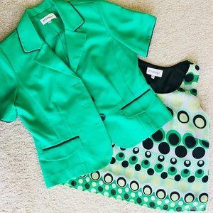 2- piece tank / blazer career suit set